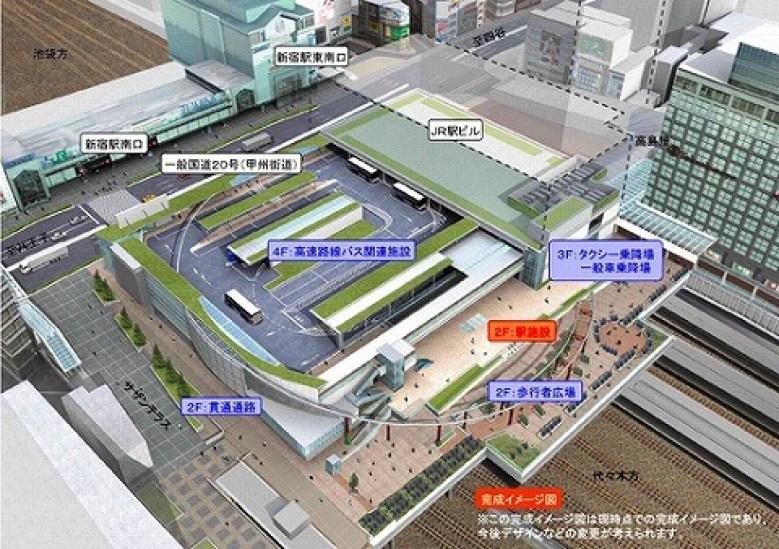 日本一のバスターミナル