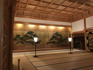 篠山城大書院・上段の間