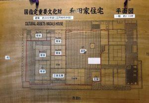 和田家住宅 平面図
