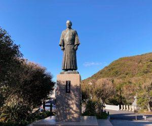 ジョン万次郎(中浜万次郎)の像