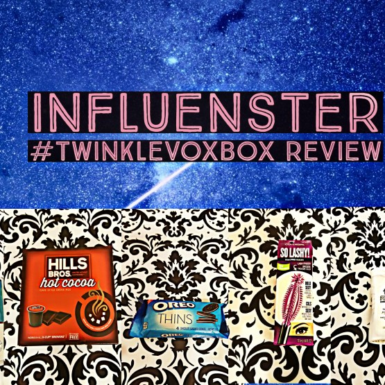 Influenster #TwinkleVoxBox Review