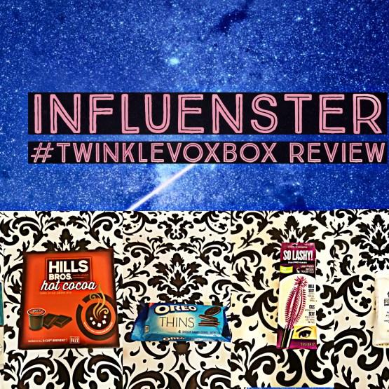 Influenster #TwinkleVoxBox Review