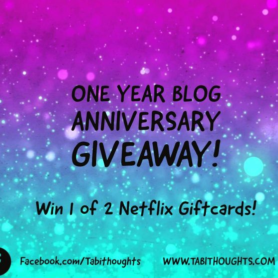 My One Year Blog Anniversary + Giveaway!