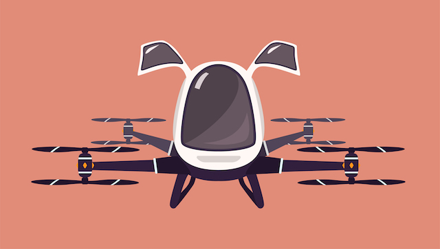 既に有人テスト飛行も実現!未来の【空飛ぶタクシー】の今