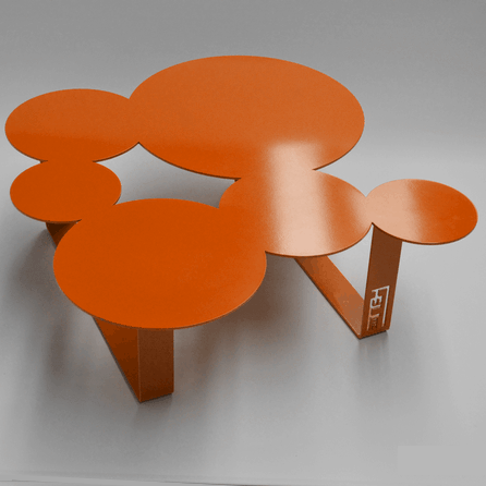 Table basse originale design grand choix de couleurs for Table basse orange
