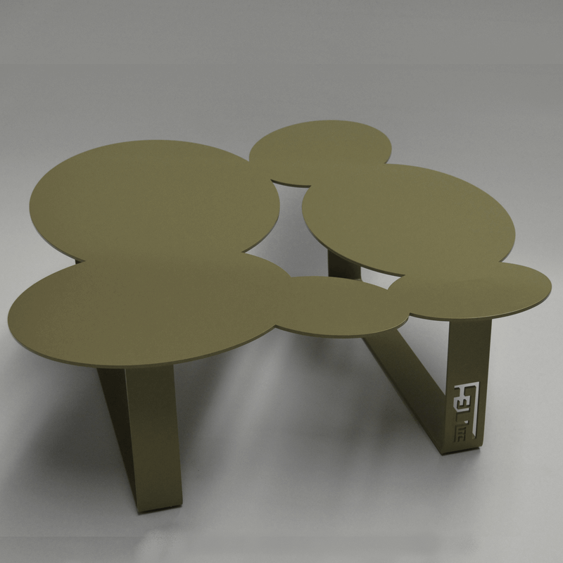 coffee table cloudy sky olive