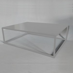 white design coffee table
