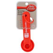 Betty Crocker red measuring spoon