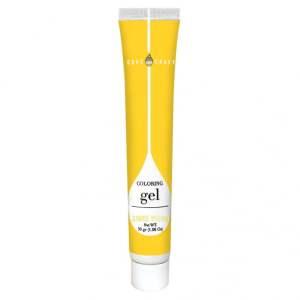 sunrise yellow coloring gel