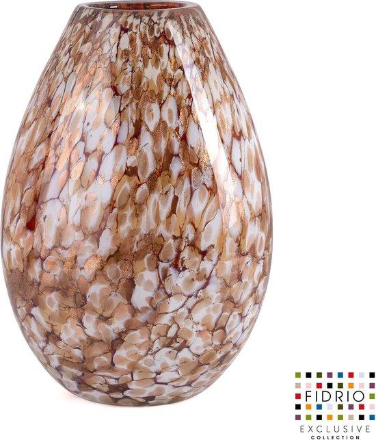 Vase Gold Organic H 20
