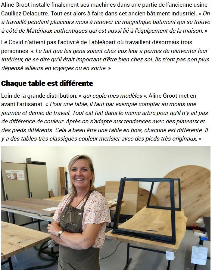 Tableàpart blog