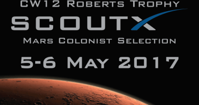 Roberts Trophy 2017 – ScoutX Mission To Mars Announcement
