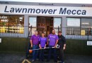 Thanks Lawnmower Mecca for supporting our new Den!