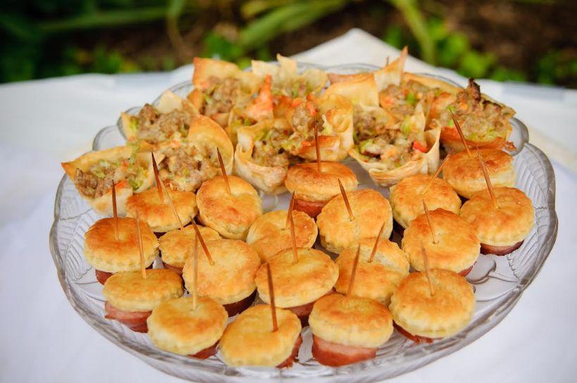 Sausage Wonton Stars and Posh Piggies