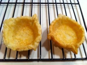 completed lemon tassie pastries