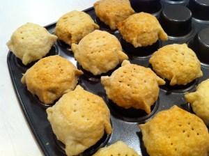 lemon tassie pastry shells