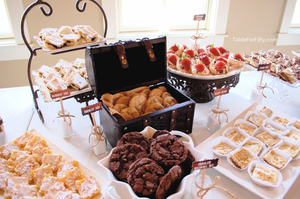 Wedding Plans? Try a cookie buffet.