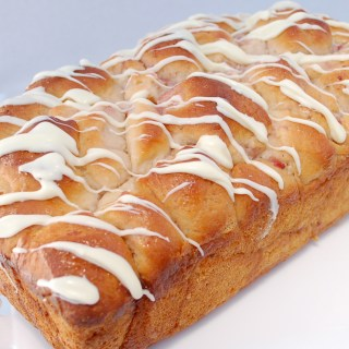 cream cheese strawberry bubble bread