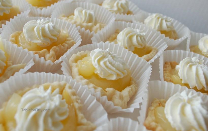lemon tassies fingerfood dessert