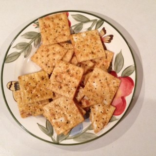spicy saltines crackers