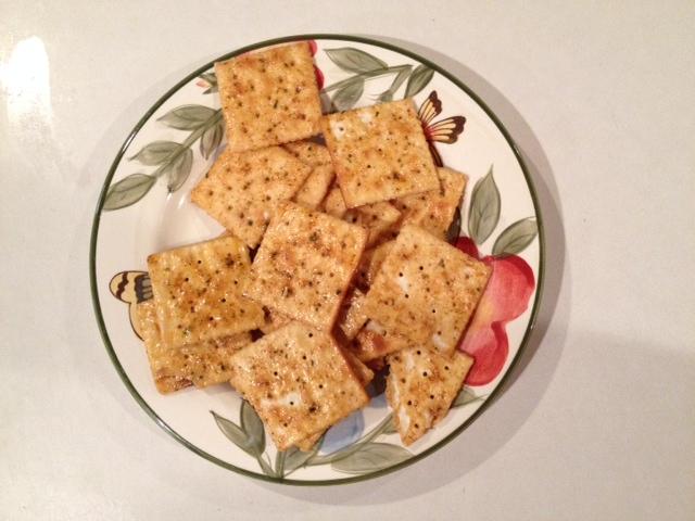spicy saltines crackers