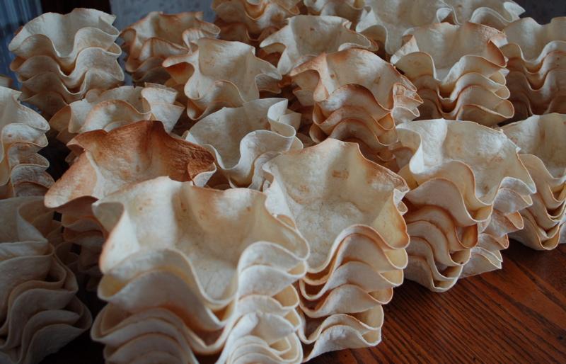 300 taco salad shells