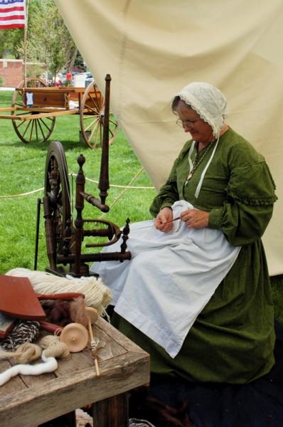 Pioneer spinning wheel