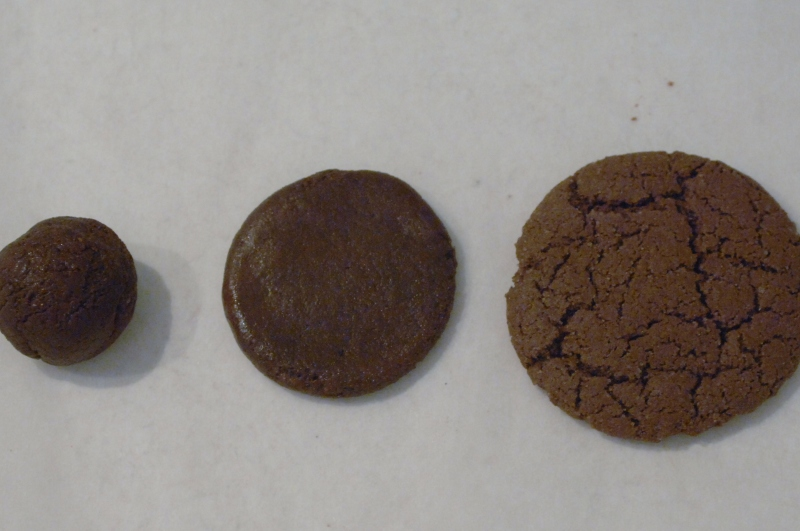 portions of oreo cookies