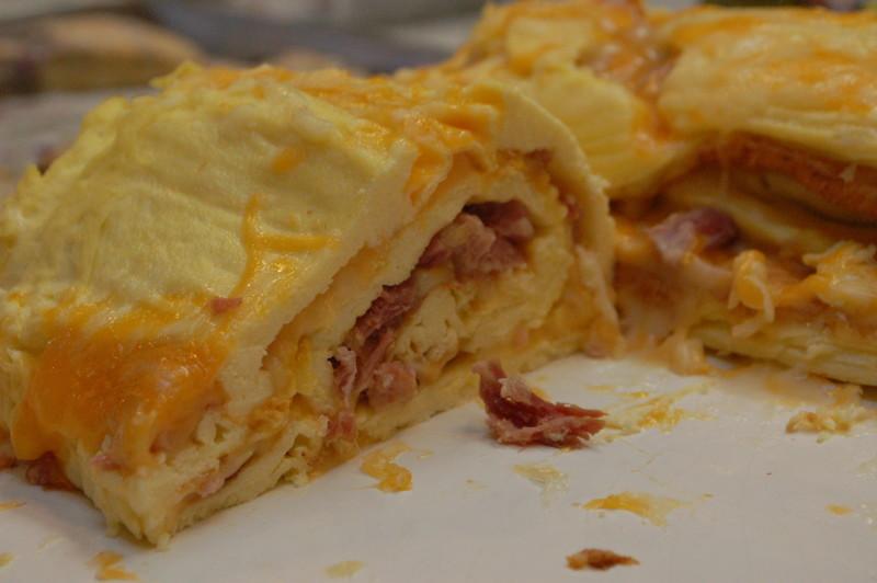 Rolled Omelette Bake