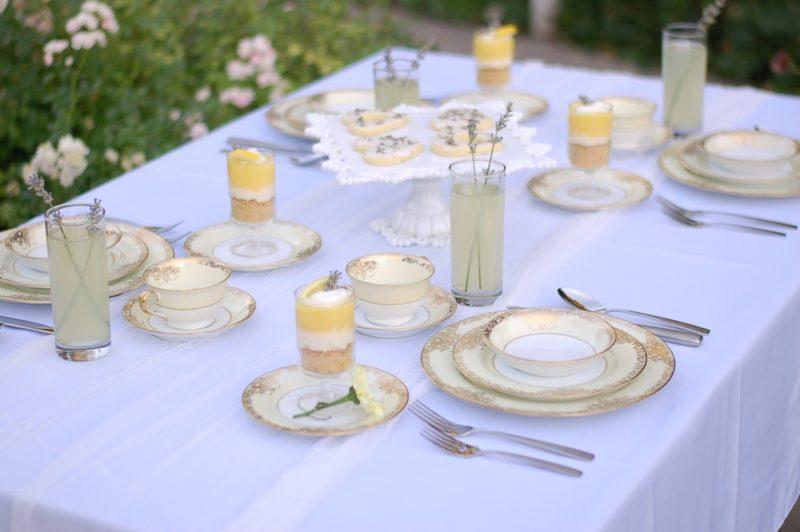 Lavender Tea Party Formal Look