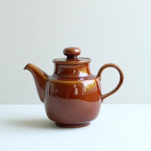 vintage theepot bruin Colditz