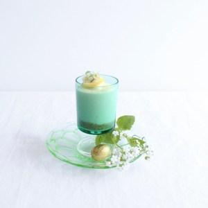 luminarc groen klein glas cavalier