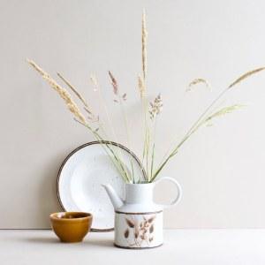 Midwinter theepot Oats met grassen