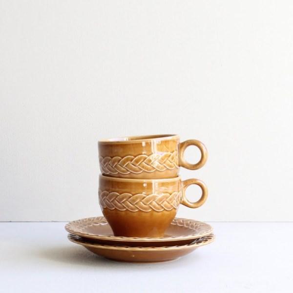 vintage kop en schotel Pagnossin