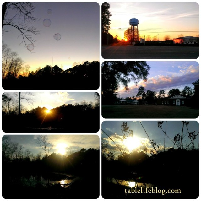 rundown week in review sunsets reflections collage sky nature