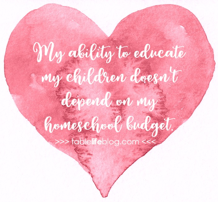 Philippians for the Homeschool Heart ~ My ability to educate my children doesn't depend on my homeschool budget.