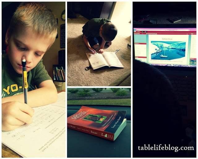 The Rundown:  Week in Review (Homeschool)