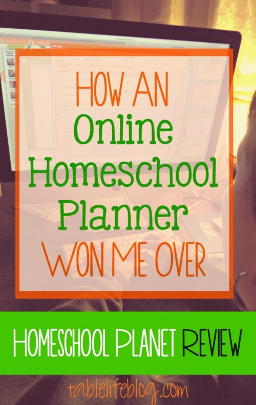How An Online Homeschool Planner Won Me Over - Homeschool Planet Review