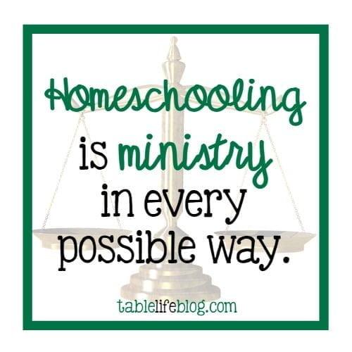 Keeping the Balance Between Homeschool and Church