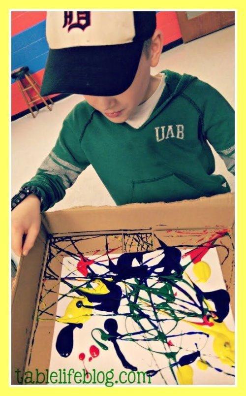 Using Amazon's Creative Galaxy for Preschool Art