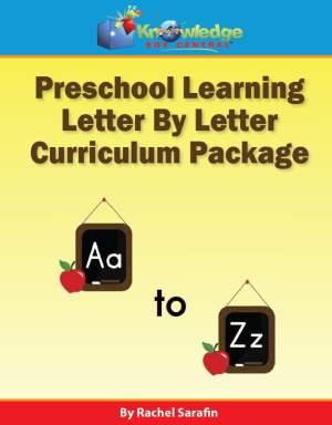 Preschool Learning Letter by Letter - Homeschool Kindergarten Curriculum Choices