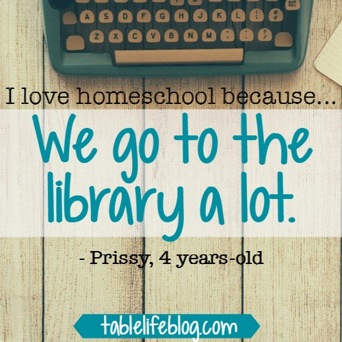 101 Reasons We Love Homeschool