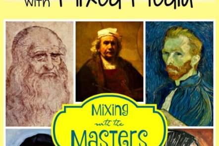 Bringing Art Study to Life with Mixed Media