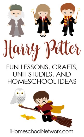 JK Rowling Unit Study with free printable pack