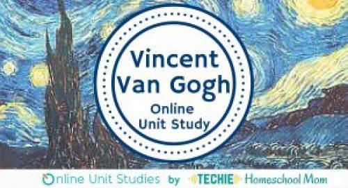10 Children's Books About Vincent van Gogh - Van Gogh Online Unit Study