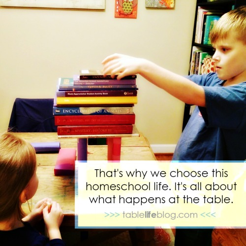 Together: The Greatest Gift of the Homeschool Life