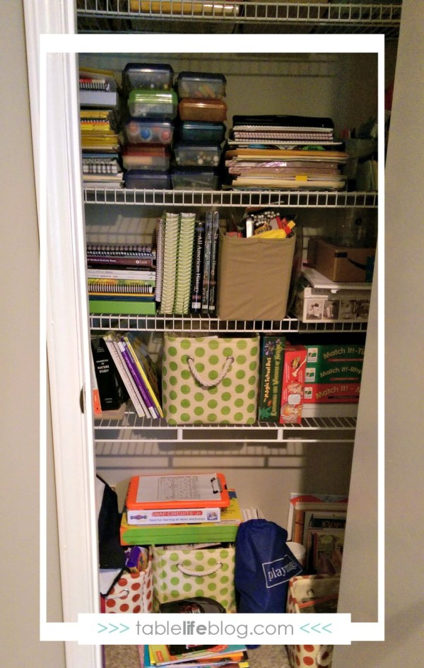 Schoolroom Spotlight: Homeschooling from Our Apartment