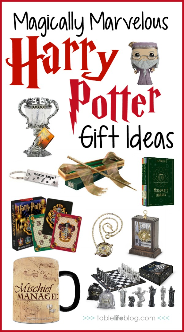 A Magically Marvelous Harry Potter Gift Guide