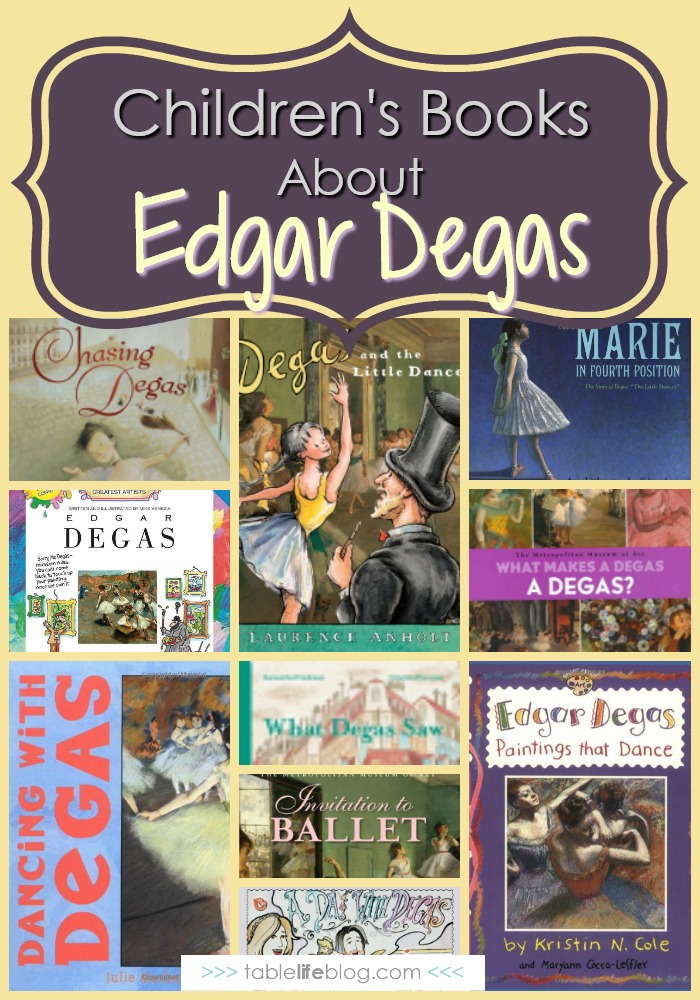 What to Read: Edgar Degas Books for Kids