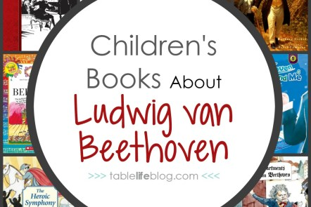 What to Read: Children's Books About Ludwig Van Beethoven